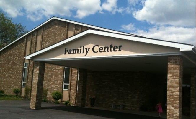 Photo of the entry way into Kingdom Life Family Center